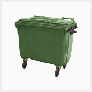 660 Litre Poly Storage Mobile Bins