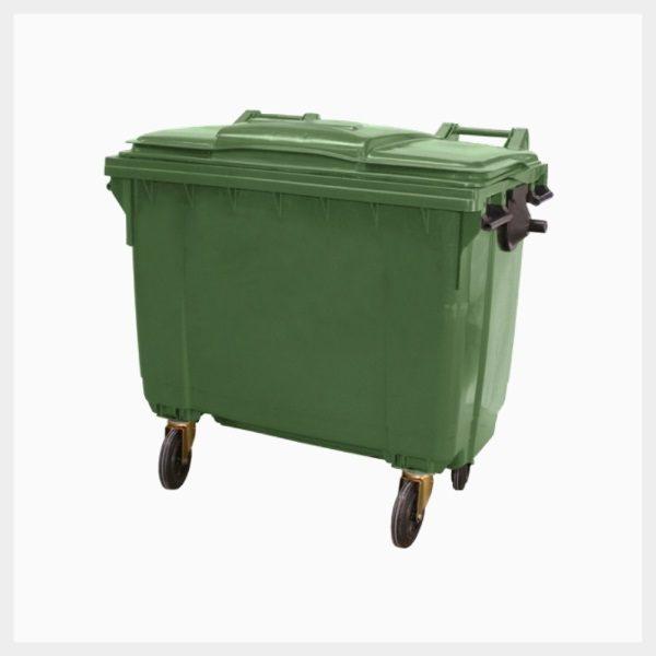 660 Litre Poly Storage Mobile Bins