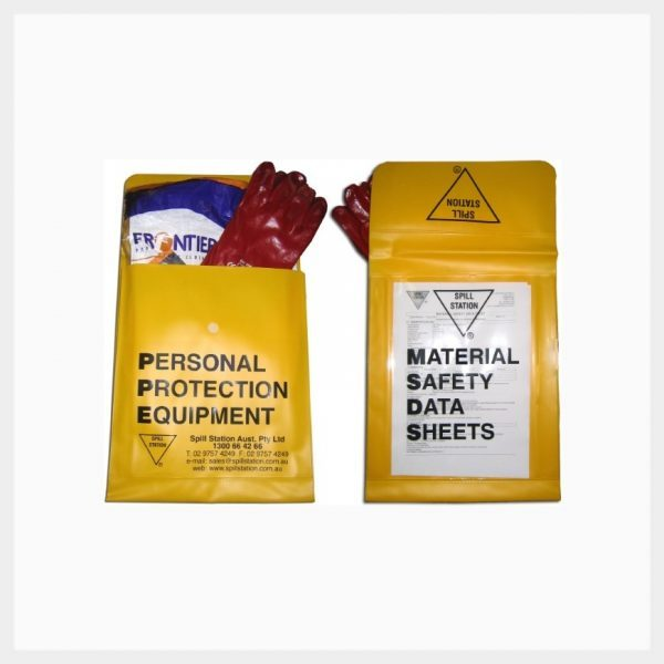 PPE & MSDS Storage Sleeve