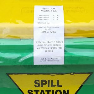 Scheduled Spill Kit Maintenance