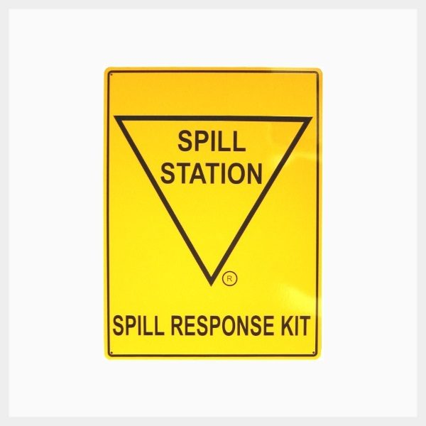 Spill Station Sign