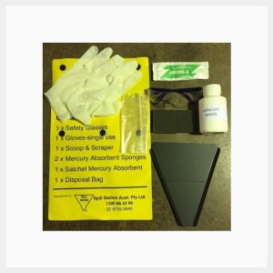 Mercury Spill Kit Pouch