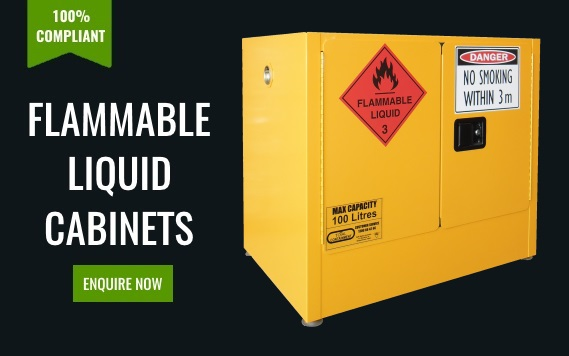 100% Compliant Flammable Liquid Cabinets Enquire Now