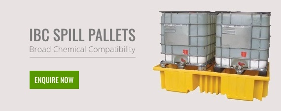 IBC Spill Pallets Broad Chemical Compatibility Enquire Now