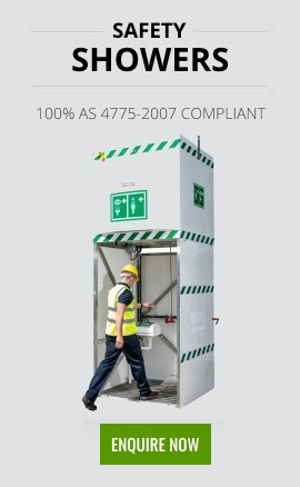 Safety Showers 100% AS 4775-2007 Compliant Enquire Now