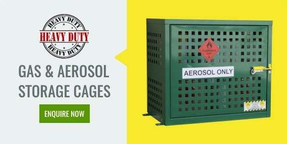 Heavy Duty Gas & Aerosol Storage Cages Enquire Now