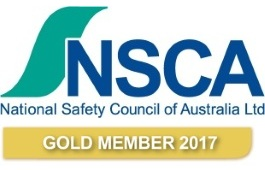 National Safety Council of Australia Gold Member Badge