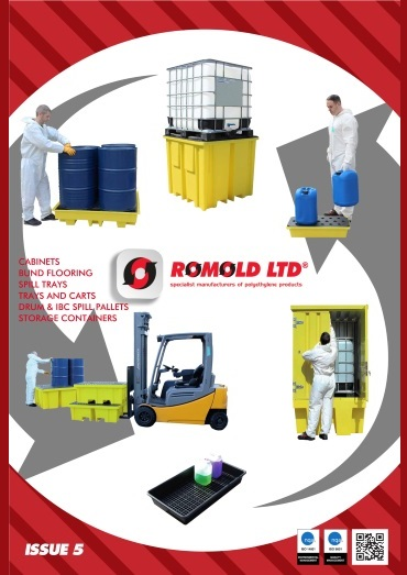Romold United Kingdom Product Catalogue Cover Photo