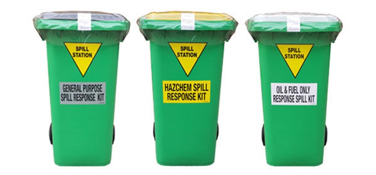 Three Main Types of Spill Kits